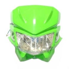 Next Batok - Kedok Lampu Depan Motocross Model KLX 150 - Hijau
