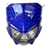 Harga Next Batok Kedok Lampu Depan Motocross Model Klx 150 Biru Oem Baru
