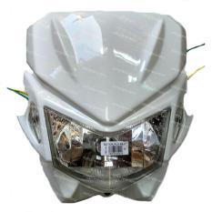 Next Batok - Kedok Lampu Depan Motocross Model KLX 150 - Putih