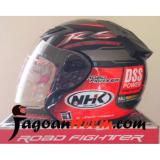 Diskon Nhk Helm R6 Rally Black Orange Multi