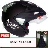 Spesifikasi Nhk Predator Solid Hitam Dof Gratis Masker Np Merk Nhk