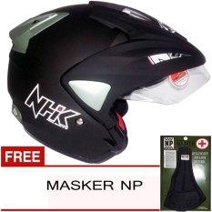 NHK PRedator Solid - Hitam Dof + Gratis Masker NP