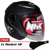 Toko Nhk R6 Solid Hitam Abs Gratis Masker Np Online