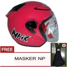NHK R6 Solid - Pink + Gratis Masker NP