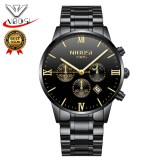 Jual Nibosi Black Watches Men 2018 Top Brand Luxury Famous Top Brand Men Quartz Military Sport Watch Men S Wristwatches Relogio Saat 2325 Intl Import