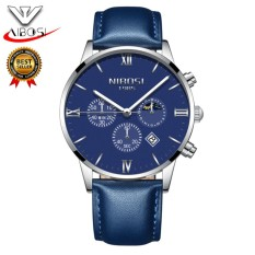 Harga Nibosi Men Watches Luxury Men S Fashion Casual Dress Watch Military Army Quartz Wrist Watches With Genuine Leather Watch Strap 2325 Intl Termahal