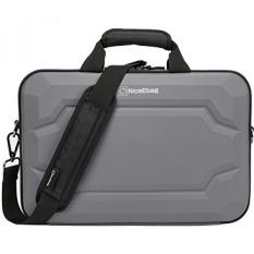 Niceebag EVA Multi-fungsional Laptop Briefcase Multi-compartment Tas Tangan 15.6 Inch Laptop Casing Kurir Tas Sertakan Tali Bahu untuk MacBook/Acer/Ponsel/Dell Alienware/Lenovo/Pria/Wanita-Internasional