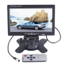 Jual Beli Online Niceeshop Car Rearview Headrest Monitor Dvd Vcr Monitor Display Black