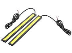 Penawaran Istimewa Niceeshop Tahan Air 6 Watt 6000 Kb Pelangsing Memimpin Siang Hari Lampu For Mengemudi Mobil Hitam Kuning Terbaru