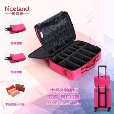 Harga Hemat Niceland Besar Multi Profesional Makeup Tas Penyimpanan Kotak Alat Nbsp Intl