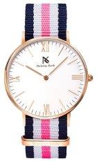 Nicholas Keith Elizabeth 36MM NK8106 - Blue White Pink
