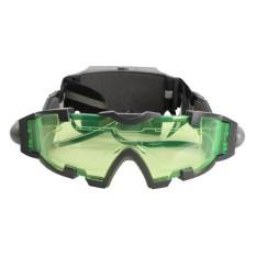 Night Vision Goggles Berwarna Hijau Lensa Lampu LED untuk Kolam-Internasional