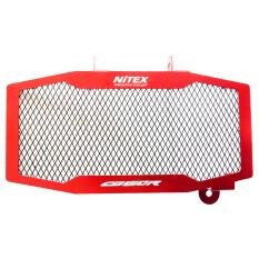 Spesifikasi Nitex Aksesoris Motor Cover Radiator Ninja Cb150R Dan New Cb150R Almunium Warna Merah Dan Harganya
