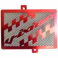 Review Pada Nitex Cover Radiator Yamaha Vixion New Almunium Warna Merah