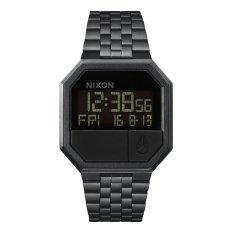 Spesifikasi Nixon A158001 Re Run Jam Tangan Pria Stainless Black Merk Nixon