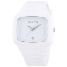 Nixon Pria A139-100 Karet Analog Putih Tombol Penyetel Jam Tangan-Internasional