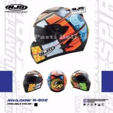 Toko Njs Vr Multi Color Full Face Helmet 802 Double Visor Dof Njs Di North Sumatra
