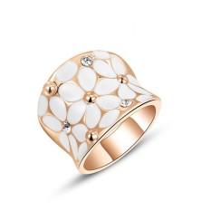 Mulia atau Elegan Wanita Perhiasan Populer Model Ledakan Austria Kristal Berlian Bunga Lingkaran-Internasional