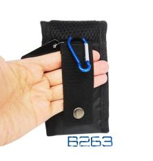 Jual Nordend Tas Handphone Pria Double Handphone 4 5 Inchi 5 5 Inchi B263B Black Orange Satu Set