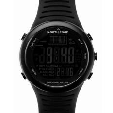Harga Termurah North Edge 720 Memancing Hiking Perjalanan Outdoor Barometer Altimeter Thermometer Sports Digital Watch Black Intl