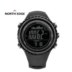 Beli North Edge Ridge1 Digital Watch For Man With Compass Barometer Thermotere Weather Waterproof Sports Gps Alarm Yang Bagus