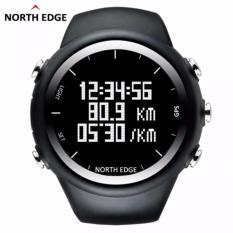 North Edge X- Trex Digital Watch for Man with Compass Barometer Thermotere Weather Waterproof Sports GPS Alarm