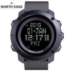 Beli North Edge Men S Sports Digital Watch Jam For Menjalankan Kolam Militer Army Watches Tahan Air 50 M Stopwatch Timer Online Tiongkok