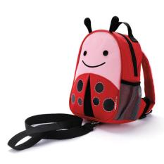 Ntr Skiphop Skip Hop Zoo Let Mini Backpack With Rein Safety Harness Ladybug Promo Beli 1 Gratis 1