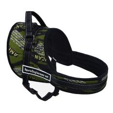 Spesifikasi Nylon Adjustable Keselamatan Auto Car Seat Belt Walking Besar Pet Anjing Harness Dada Kamuflase Xl Intl Yang Bagus
