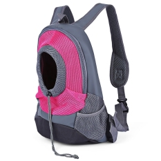 Spek Anjing Nilon Travel Carrier Bag Depan Mesh Head Out Puppy Doubleshoulder Pack Intl Tiongkok