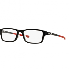 Oakley Ophthalmic Optical Chamfer (A) Ox8045 - Satin Black (804506)  Size 55 Clear