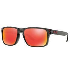 Oakley Sunglasses Holbrook (A) Oo9244 - Grey Smoke (924404)  Size 56 Ruby Iridium