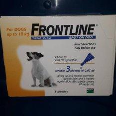 Harga Obat Kutu Frontline Dog 10Kg Online Indonesia