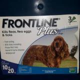 Toko Obat Kutu Frontline Plus Dog 10 20Kg Lengkap Di Banten