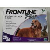 Toko Obat Kutu Frontline Plus Dog 20 40Kg Banten