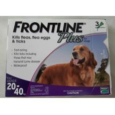 Harga Obat Kutu Frontline Plus Dog 20 40Kg Yg Bagus
