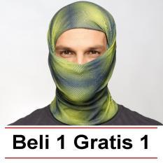 Obral !! Beli 1 Gratis 1 Buff Masker Bandana Original Jiabao ( Grosir Lebih Murah- Partai Besar- Dropship- Reseller Welcome) By Toyo Deal Shop.