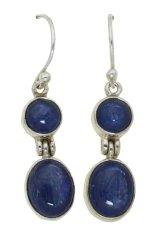 Beli Obriva Silver Earrings Two Blue Stone Obriva Murah