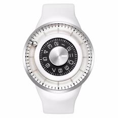 Odm Watch DD159-2 Jam Tangan Pria Odm Jupiter Collection Silicone Putih