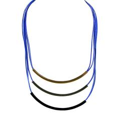 Ofashion Aksesoris Kalung XX-CA-1702K043 Modern Necklace Accessories Panjang 77 Cm - Hitam EmasIDR15700. Rp 15.700