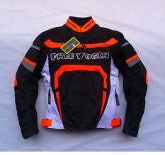 Mati-Jalan Sepeda Motor Jersey Knight Jumper Motor Jumper Kecepatan Jersey Jatuh Kemeja 607 Fall Netwear Pria (warna: oranye/Ukuran: M)-Internasional