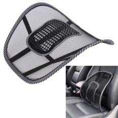 Office Chair Car Seat Cover Sofa Cool Massage Cushion Lumbar Back Waist Brace Lumbar Cushion High Quality Seat Supports - intl