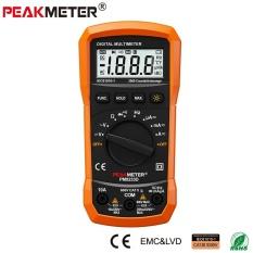 [Mengambil Rp43000 dari Rp430000] Resmi Peakmeter Terbaik Harga Murah Ukuran Saku LCD Tampilan AC DC 2000 Menghitung Otomatis jarak Digital Multimeter PM8233E-Internasional