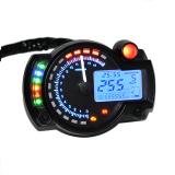 Promo Allwin Digital Lcd 15000 Rpm Speedometer Untuk Sepeda Motor Sebagai Alat Pengukur Takometer Dan Odometer