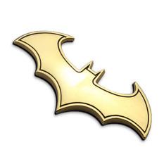 Harga O 3D Keren Logam Bat Logo Otomotif Mobil Stiker Mobil Penataan Lencana Logam Lambang Oem Original