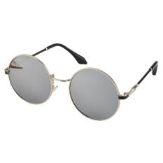 Harga Oh Classic Goggles Kacamata Logam Kids Girls Boys Anti Uv Outdoor Sunglasses Putih Perak Intl Termahal