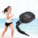 Toko O Tahan Air Digital Lcd Chronograph Stopwatch Penghitung Waktu Alarm Olahraga Lengkap