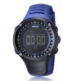 Beli Ohsen Merek 1510 Men Rubber Strap Digital Outdoor Sport Tahan Air Jam Tangan Biru Seken