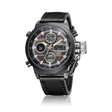 Model Ohsen Merek Ad1601 L Digital Quartz Men Fashion Jam Tangan Hitam Terbaru