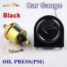 Spesifikasi Oil Press Mobil Gauge 2 52Mm 100 Psi 12 V Auto Tekanan Kendaraan Meter Dengan Sensor Bezel Hitam Intl Murah